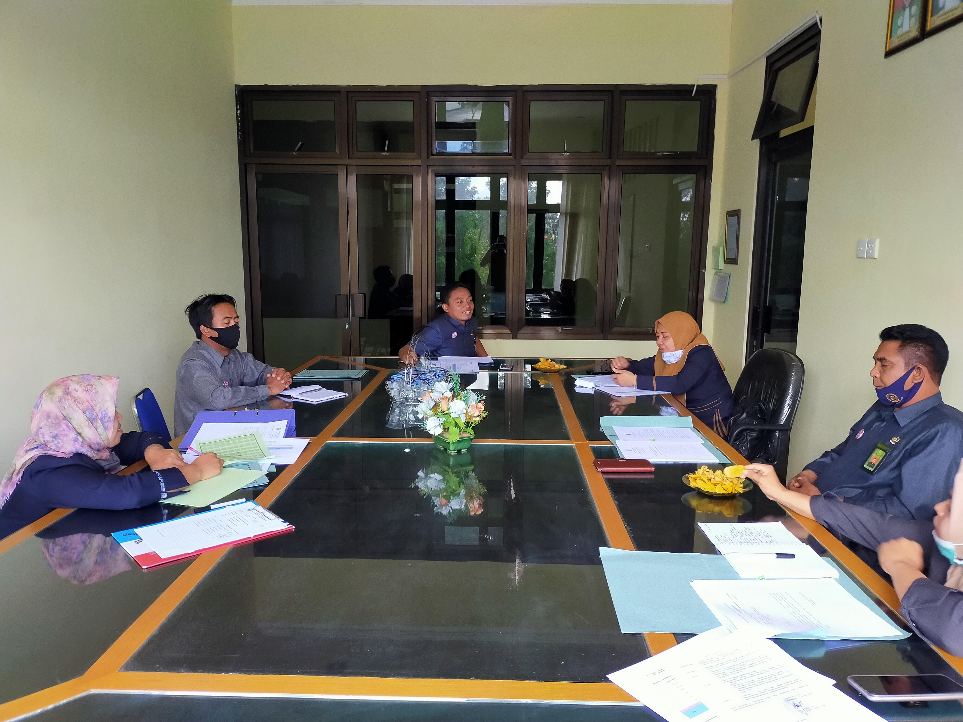 Rapat Badan Pertimbangan Jabatan dan Kepangkatan (BAPERJAKAT) Pengadilan Agama Soe Bulan September 2020