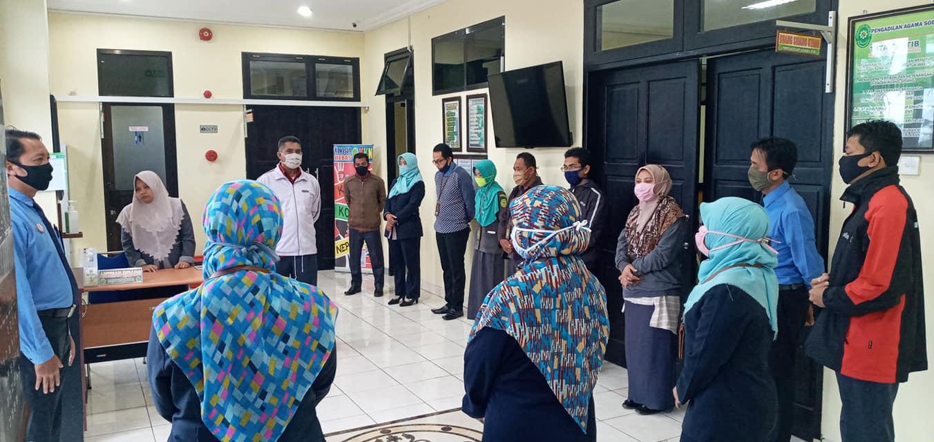 Briefing Pagi di Hari Terakhir Kerja Bulan Ramadan 1441 H