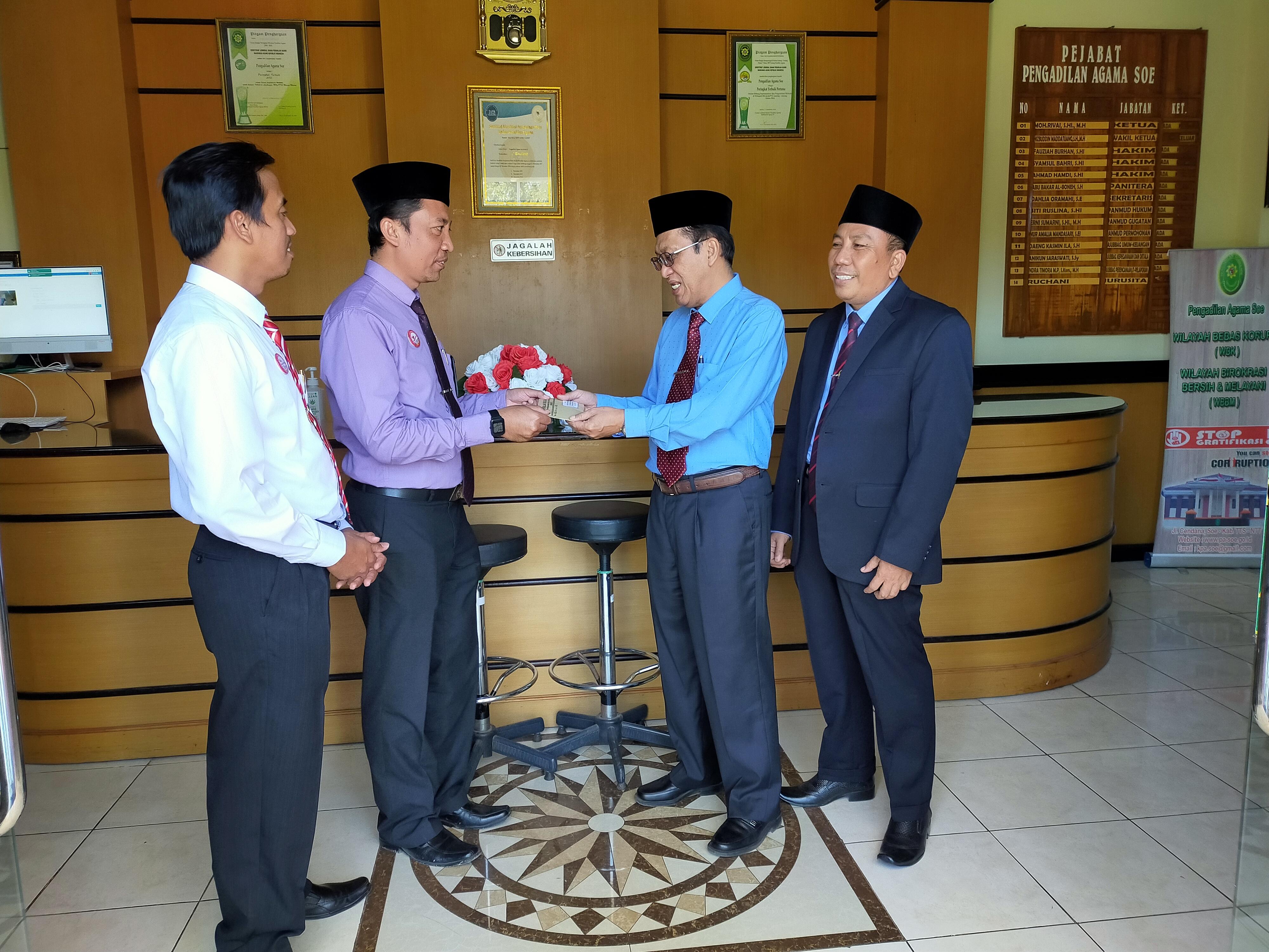 Dukungan Pengadilan Tinggi Agama Nusa Tenggara Timur Pembangunan Sarana Tempat Ibadah di Pengadilan Agama Soe