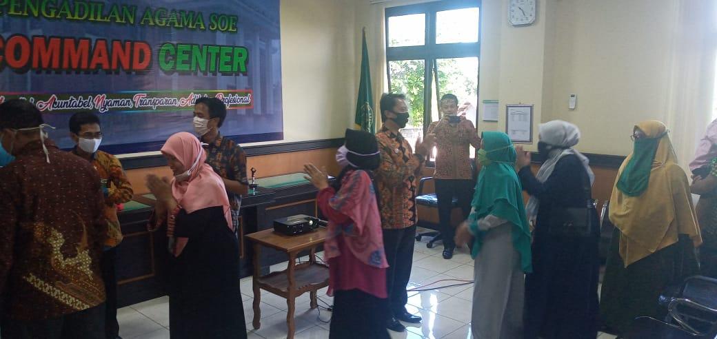 Halal Bihalal Hari Raya Idul Fitri 1441 Hijriah Keluarga Besar Pengadilan Agama Soe