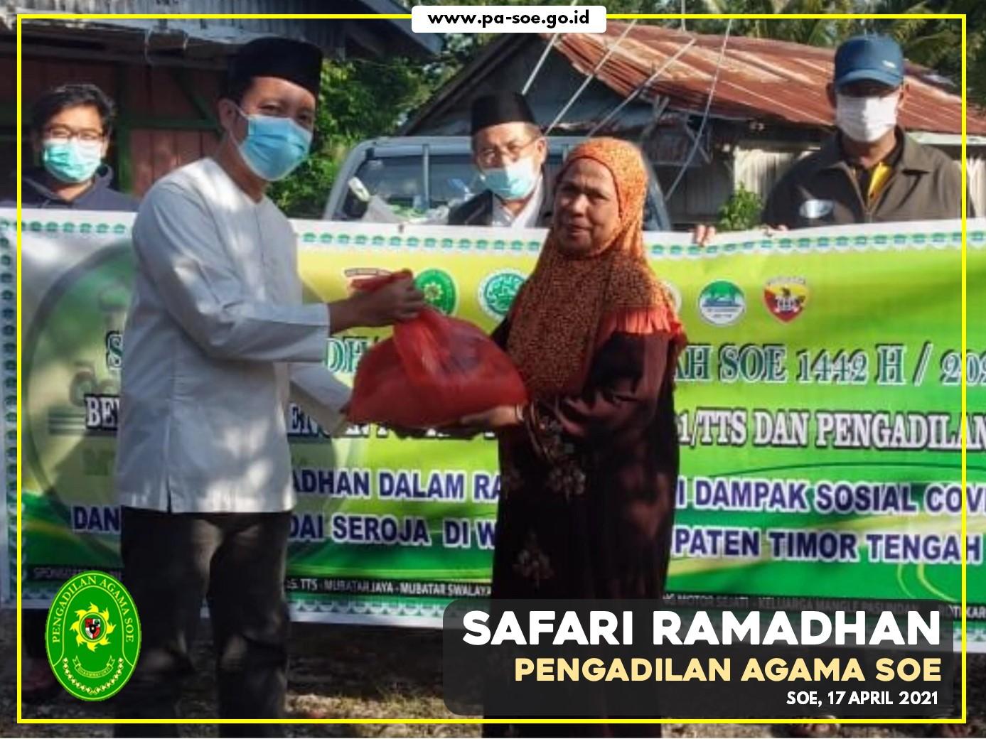 Safari Ramadhan Pengadilan Agama Soe Tahun 2021