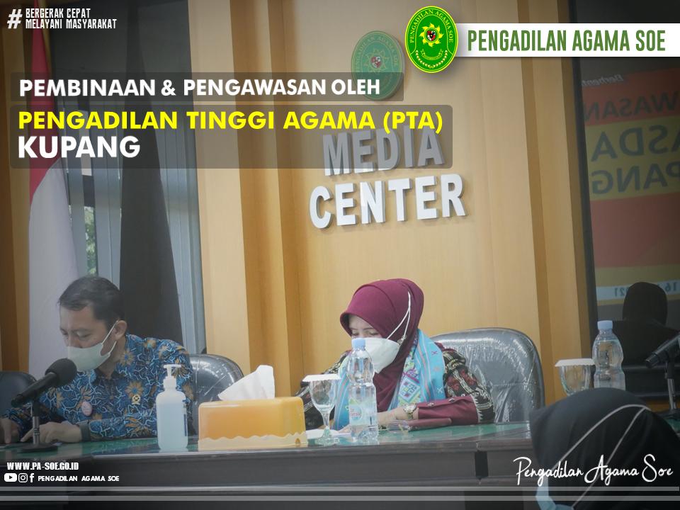 Tamu Istimewa Pengadilan Agama Soe di Bulan Dzulhijah   (23/7)