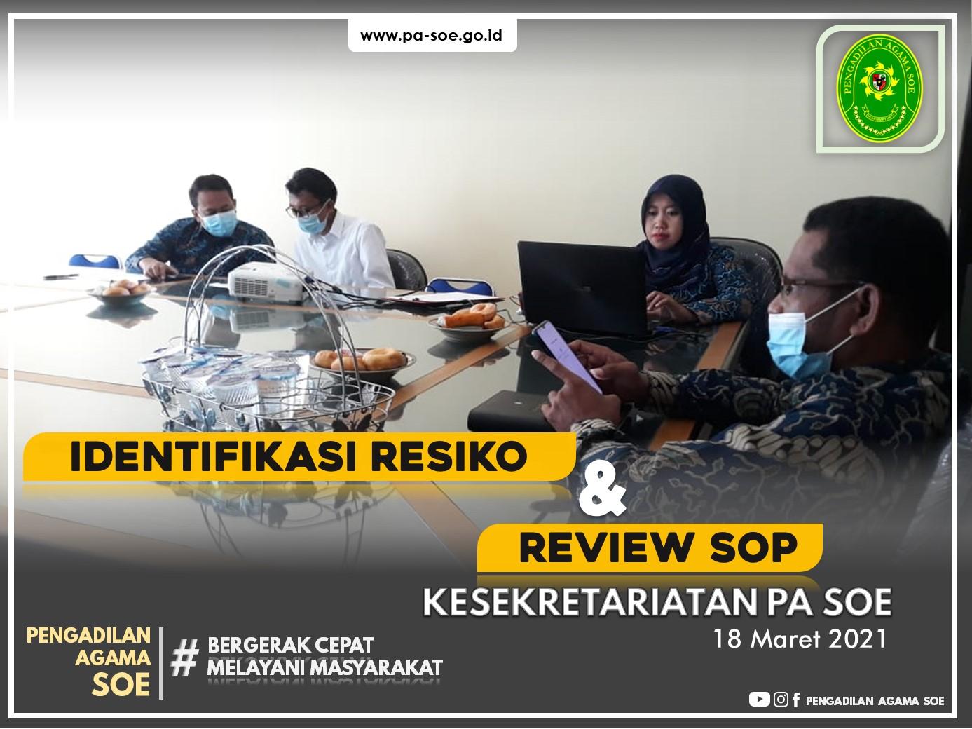 Identifikasi Resiko & Reviu SOP Bidang Kesekretariatan