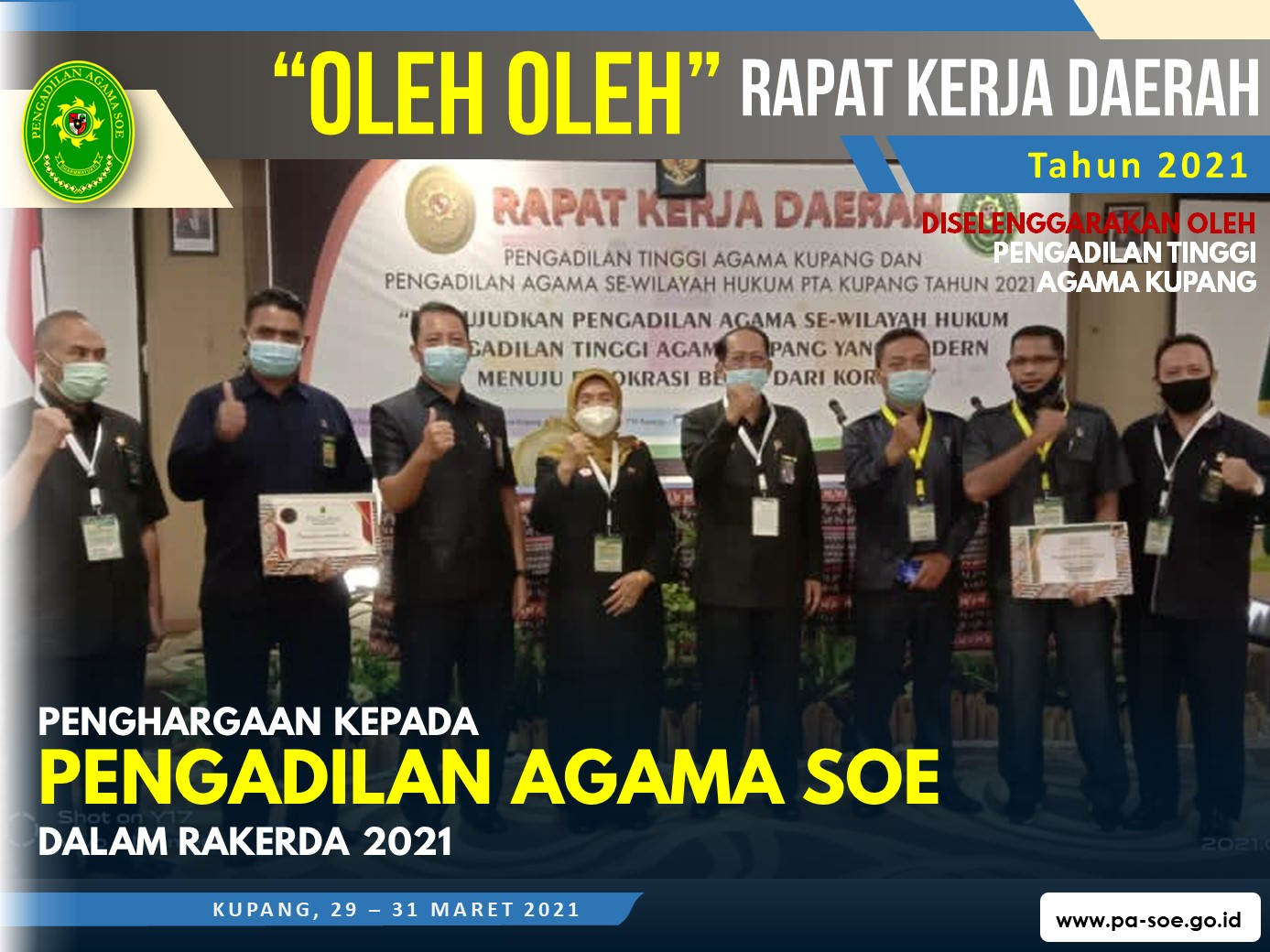 """""""Oleh-Oleh"""" Rapat Kerja Daerah Pengadilan Tinggi Agama Kupang"""