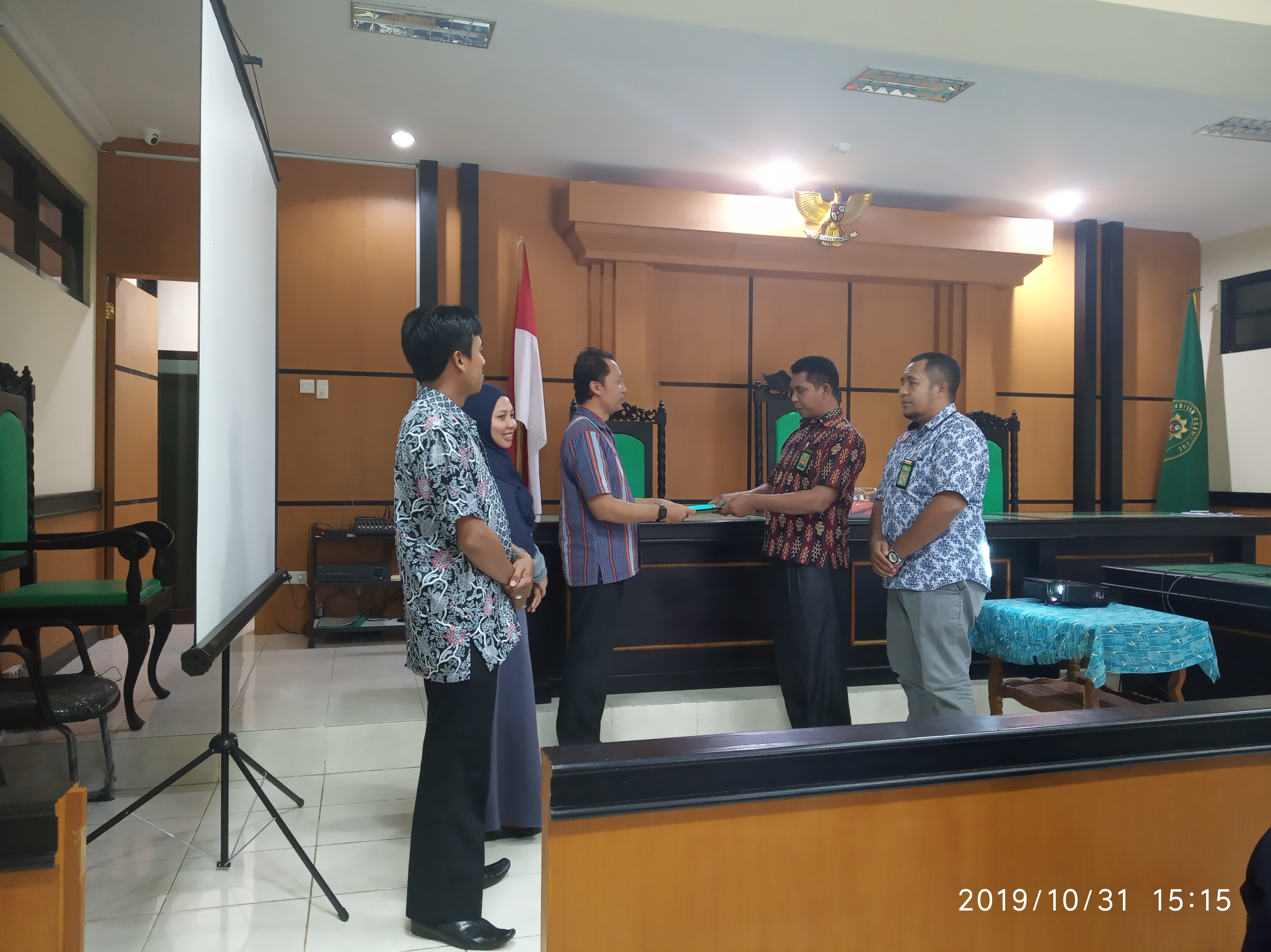 Expose Hasil Pengawasan Internal HAWASBID Triwulan III - 2019