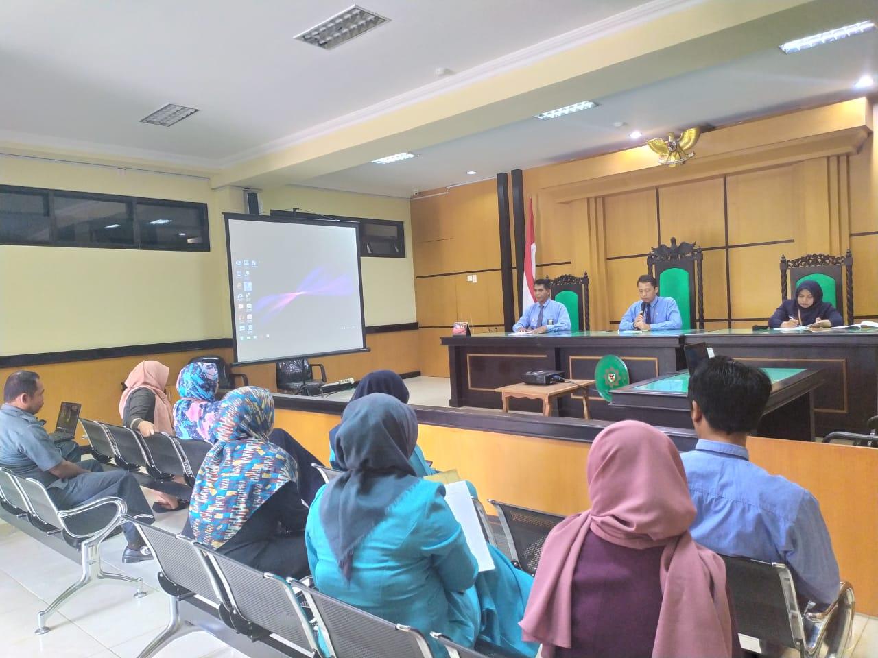 Rapat Tindak Lanjut Hasil Temuan HAWASBID Triwulan III Tahun 2019    (22/11)