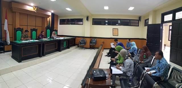 Rapat Penyusunan dan Sosialisasi Dokumen Rencana Aksi / Rencana Kerja Pembangunan Zona Integritas