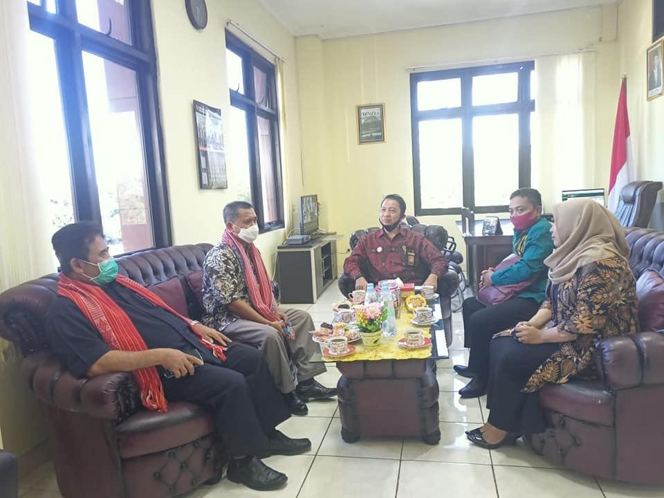 Kunjungan Kerja Kepala Biro Keuangan Badan Urusan Administrasi Mahkamah Agung Republik Indonesia